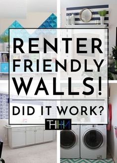 Hit or Miss? Renter-Friendly Walls (The Homes I Have Made) Boho Apartment, Apartment Walls, Apartment Living, Apartment Wallpaper, Apartment Interior, Decorate Apartment, Apartment Ideas, Small Apartment Hacks, Living Room