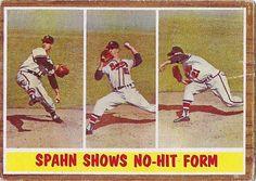 1962 Spahn Shows No-Hit Form