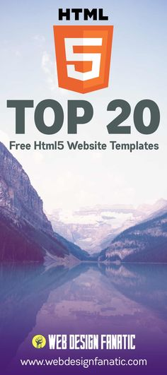 The top 20 #Free #HTML5 website templates