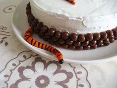 Menina Framboesa: o tigre e o bolo