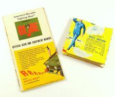 2 1960s GI Joe Hasbro Toy Pamphlets & Catalogs Poster Army Soldier Navy Sailor #Hasbro