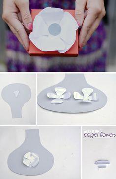 DIY: paper flowers
