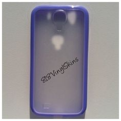 Samsung Galaxy 4s Purple Bumper Case
