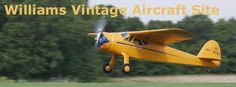 Williams Vintage Aircraft Site Bush Plane, Airplane For Sale, Fighter Jets, Aviation, Automobile, Aircraft, Antiques, Vehicles, Image