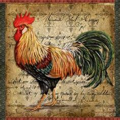 rooster paintings - Bing images