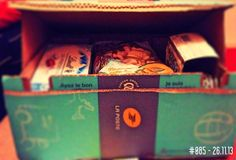 #085 (26.11.13) - Care package has arrived :)