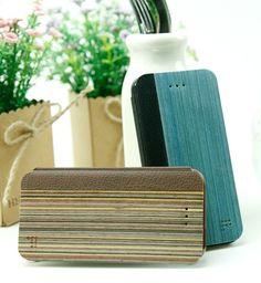 [Feelook] Wooden flip case For iPhone5 $20.99