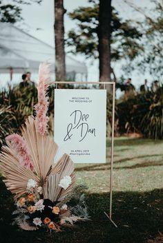 Dee + Dan by Ivy Road Photography Marie's Wedding, Wedding Signage, Floral Wedding, Rustic Wedding, Wedding Flowers, Dream Wedding, Wedding Ideas, Wedding Photos, Vineyard Wedding