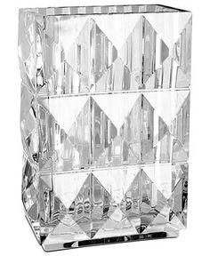 "Baccarat Vase, 8"" Louxor - Bowls & Vases - for the home - Macy's"