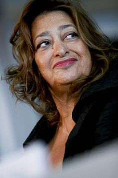 Dame Zaha Hadid- words cannot describe my love for this woman. Her work is just well... wow!