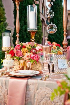 Rose gold wedding inspiration that took our breath away as a trending color palette featuring bridal styles that will help you find the perfect wedding look.
