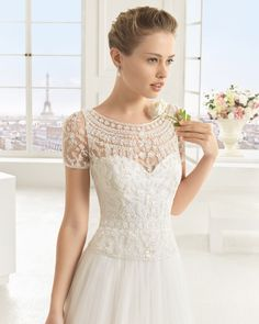 ECLIPSE  Rosa Clara 2016 wedding dress #weddingdress #Wedding