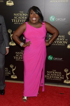 Sheryl Underwood Photos - Comedian Sheryl Underwood attends The Annual Daytime Emmy Awards at The Beverly Hilton Hotel on June 2014 in Beverly Hills, California. - The Annual Daytime Emmy Awards - Arrivals Sheryl Underwood, The Beverly, Comedians, Dapper, Pop Culture, Awards, Hollywood, Elegant, Formal Dresses