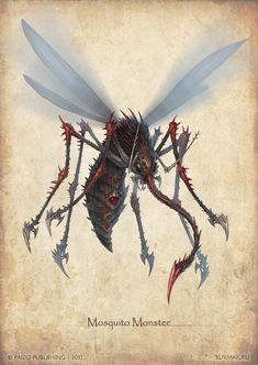 Paizo+monster+-+Mosquito+Monster+by+DevBurmak.deviantart.com+on+@deviantART