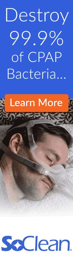 Wouldn't you like to breathe easier knowing that your CPAP equipment is totally disinfected and not crawling with germs? This is how to clean your CPAP.