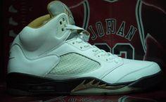 """Air Jordan 5 """"Wedding"""" PE"""