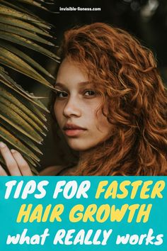Looking for some natural ways to make your hair grow faster? These tips will help you have healthy hair growth without any snake oil treatments! Make Hair Grow Faster, Grow Long Hair, Grow Hair, Easy Hairstyles For Long Hair, Healthy Hair Growth, Hair Care Tips, Your Hair, The Cure, Make It Yourself