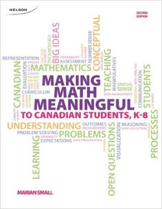 Making Math Meaningful: to Canadian Students, K-8: Marian Small: 9780176503505: Elementary Education: Amazon Canada