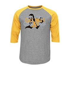 MLB Oakland Athletics Men's Victory Is Near Tee, Charcoal Heather-Yellow Gold, Small  http://allstarsportsfan.com/product/mlb-mens-victory-is-near-tee/?attribute_pa_teamname=oakland-athletics&attribute_pa_size=small  Official MLB Short Sleeve Raglan Tee Victory Is Near Tee Licensed Approved Screen print
