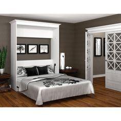 Costco - $1350 - Bestar Queen Wall Bed in White