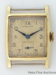 Vintage Hamilton Boyd 747 Mens 17J Wrist Watch #Hamilton