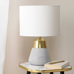 Are you interested in our small table lamp? With our table lamp white shade you need look no further.