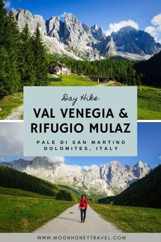 Detailed guide to this moderately difficult day hike in Pale di San Martino. Starting in Val Venegia valley, you'll hike Malga Venegiota, before ascending to Passo Mulaz and Rifugio Mulaz. The circuit trail delivers incredible views of the Pala Group from mutliple angles. #italy #northernitaly #palagroup #italiandolomites #dolomites #dolomiti #paledisanmartino #trentino #italianalps #alps #europetravel #hiking #alpinehiking