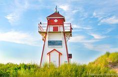 Um roteiro family-friendly pelo centro de Charlottetown, pela praia de Cavendish e o famoso farol de Covehead, na ilha de Prince Edward Island.