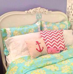 Southern prep bedroom
