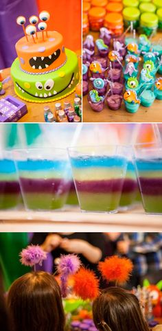 Lil Monster themed Birthday Party with TONS of cute and easy ideas! Via Karas Party Ideas KarasPartyIdeas.com #monster #themed #birthday #party #ideas #idea #little #decorating #supplies #birthday #cake #idea #cupcakes #ideas