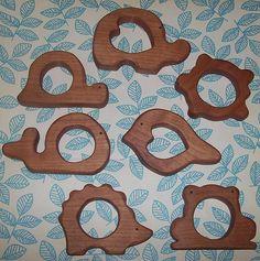 Waldorf Inspired Wooden Alder Teether Toys   Flickr - Photo Sharing!