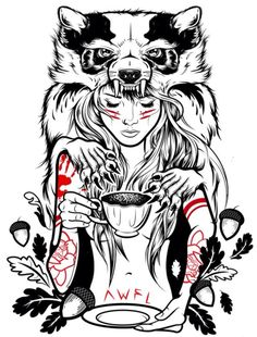 Cheap cat arm, Buy Quality tattoo sticker directly from China waterproof temporary tattoo sticker Suppliers: Druid Girl Waterproof Temporary Tattoo sticker Civet cats arm tattoo sleeve flash tattoo tatouage tatoo sleeve jesus couronne Art And Illustration, Illustrations, Tatoo Geek, Tatoo Art, Biomech Tattoo, Arm Tattoo, Tattoo Ink, Realistic Temporary Tattoos, Drawn Art