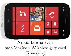 A Hen's Nest - Nokia Lumia 822 Phone + $100 Verizon Wireless GC Giveaway