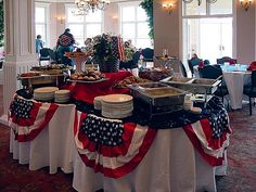 4th-of-july-buffet-at-farmhouse THIS IS SO BEAUTIFUL !!!