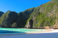 Maya Bay 7 Places To Explore When You Visit Phi Phil Islands in Thailand! in Asia, Phi Phil Islands, Thailand | Travel | Hand Luggage Only