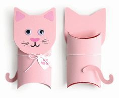 cat pillow box valentine