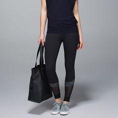 Lululemon If You're Lucky Pants Like New Lululemon If You're Lucky Pants, Size 6, Black/Heathered Black. lululemon athletica Pants Leggings