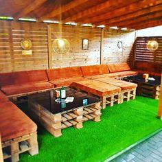 Rock 'N' Roll PUB - Čia savaitgalis niekada nesibaigia Irish Pub Interior, Bar Interior, Interior And Exterior, Rock N Roll, Exterior Design, Backyard, Summer, Patio, Summer Time