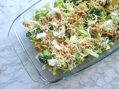 Broccoli casserole with walnuts and mozzarella (low in carbohydrate) - Broccoli casserole with walnuts and mozzarella (low in carbohydrate). Looking for an easy oven dish - Healthy Crockpot Recipes, Healthy Cooking, Low Carb Recipes, Vegetarian Recipes, Healthy Eating, Cooking Recipes, Pasta Recipes, Mozzarella, Healthy Diners