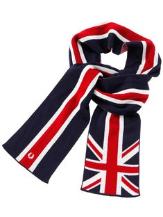 Dawn Duncan - FRED PERRY UNION JACK MUFFLER- To warm you up on those cool autumn nights...