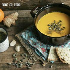 cafe de hera: Portakallı Zencefilli Havuç Çorbası