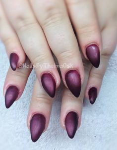 Light elegance 'pour me a kiss' with flat matte / stiletto gel nails @nailsbythelmaosk