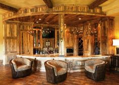 rustic home ideas | ... Impressive Home Bar Design for Fancy Living | Ideas, Designs, Pictures