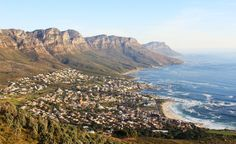 The Best of Cape Town, South Africa, in 10 pictures. The Twelve Apostles Mountain Range overlooking the beach of Camps Bay.