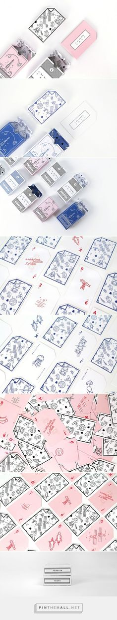 J. of Cards / J. OF HEARTS is a deck of cards designed as a gift by Ioana J. Alfa