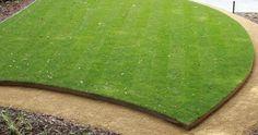 Afbeeldingsresultaat voor tuin met gazon