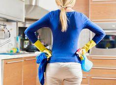 Utilizzo dei prodotti eco/bio non inquinanti per la pulizia della casa