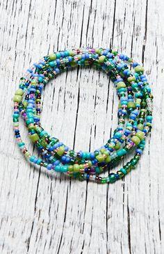Me To We Wanderlust Rafiki Friend Bracelet - Womens Jewelry - Blue - One from PacSun.