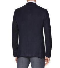 ERMENEGILDO ZEGNAMANTEAUX:         Ce blazer High Performance bleu marine est doté de 10poches pour emporter tout ce dont vous avez besoin.  <br>•Blazer High Performance ble
