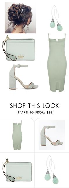 """""""Mint"""" by amanda-leigh-6 ❤ liked on Polyvore featuring Boohoo, New Look, Kate Spade, BillyTheTree and emeraldgreen"""